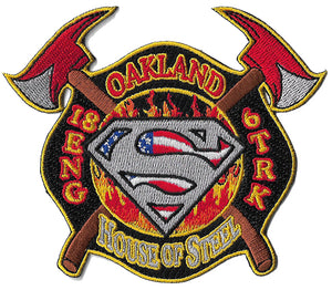 Oakland, CA Engine 18 Truck 6 House of Steel Fire Patch