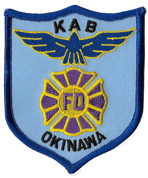 Okinawa Air Force Base Crash Rescue Fire Patch