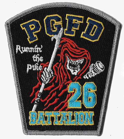 PGFD Prince George , MD. Battalion 26 Patch