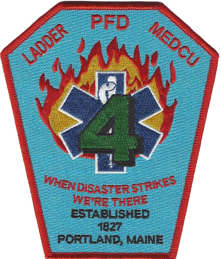 Portland, Maine Ladder MEDCU 4 Patch