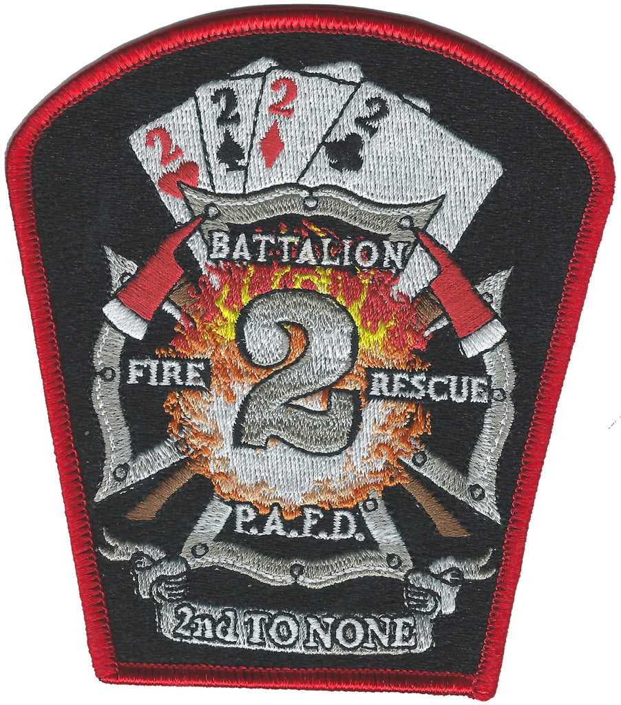 PERTH AMBOY, NJ  Battalion 2 Fire Patch