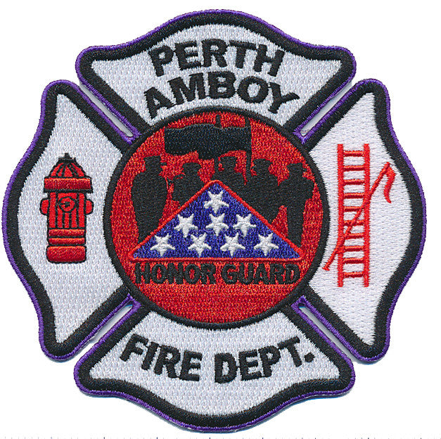 Perth Amboy, NJ Honor Guard Patch