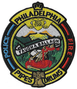Philadelphia Fire Police Pipes & Drums Patch