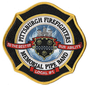 Pittsburgh, PA Pipes & Drums Patch