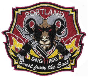 "Portland, Maine Engine 11 ""Beast From The East"" Patch"