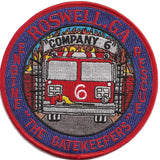 ROSWELL,GA Engine RESCUE COMPANY 6 FIRE Patch