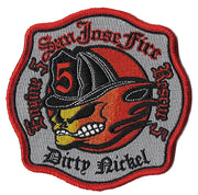 San Jose, CA Station 5 Dirty Nickel Fire Patch