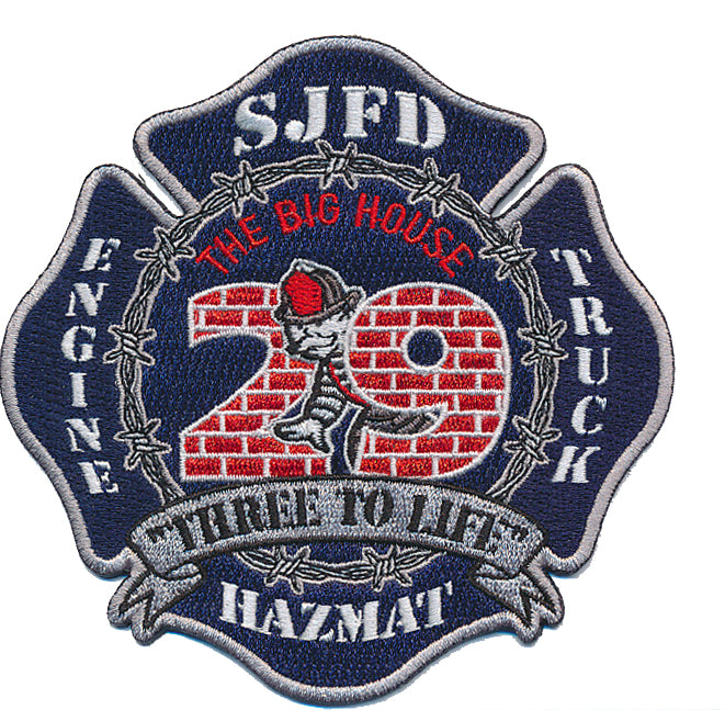 San Jose Fire Department 29 Fire Patch