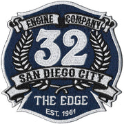 "San Diego Station 32 ""The Edge"" Patch"