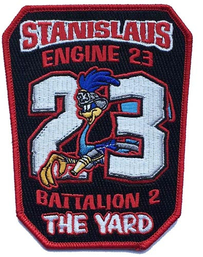 STANISLAUS , CA. Engine 23 Fire Patch