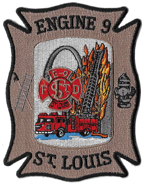 St. Louis Engine 9 Fire Patch