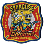 Syracuse EMS Division Medic 1 Minions Fire Patch