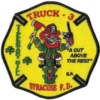 Syracuse Truck 3 A Cut Above the Rest Fire Patch
