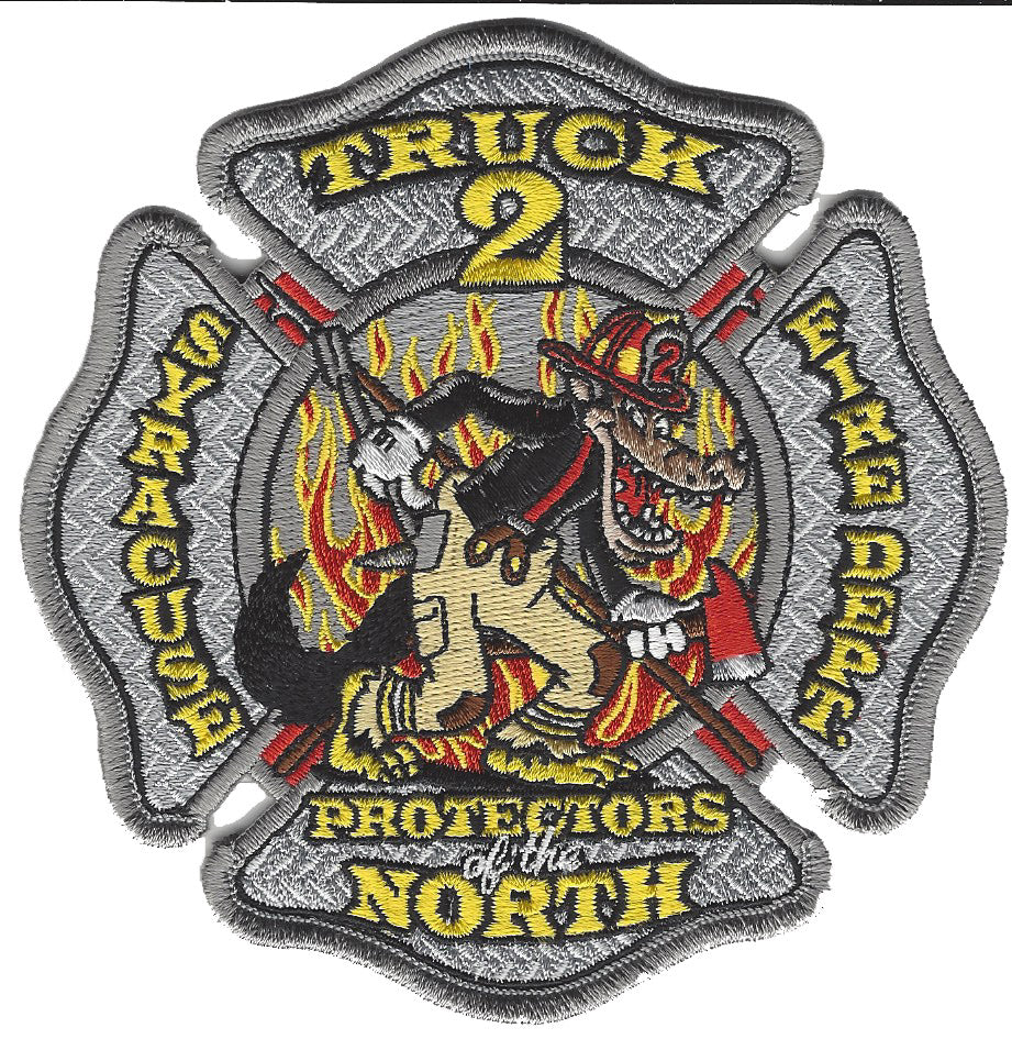 Syracuse Fire Dept. Truck 2 Patch
