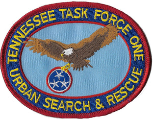 Tennessee Urban Search & Rescue Fire Patch