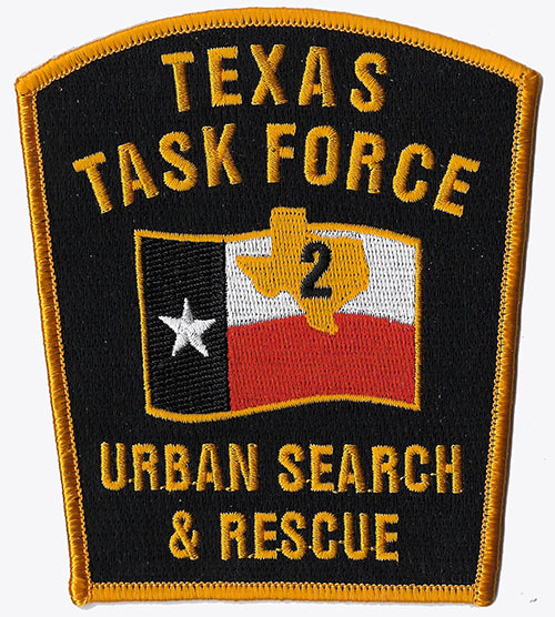 Texas 2 USAR Urban Search & Rescue Fire Patch