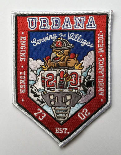 URBANA FIRE DEPT. ENGINE 73 FIRE PATCH