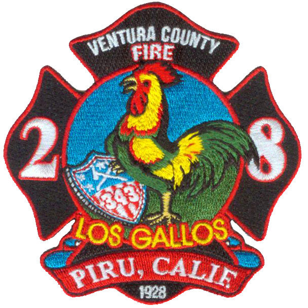 Ventura, CA Station 28 Los Gallos Piru Patch