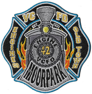 Ventura, CA Station 42 Moorpark Old Town Grey Fire Patch