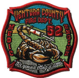 Ventura, CA Station 52 MEDIC ENGINE Patch