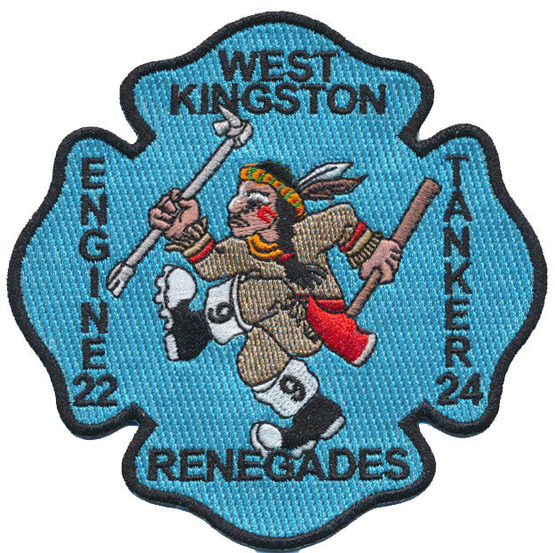 West kingston, RI. E-22 Tanker 24 Renegades Patch