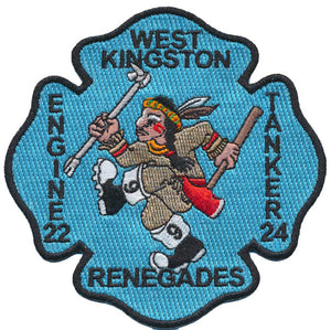 West Kingston, RI. Engine 22 Tanker 24 Renegades Patch