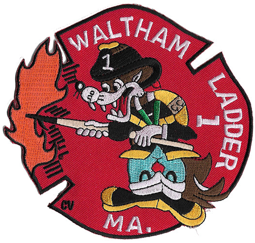 Waltham , MA  Ladder 1 Fire Patch