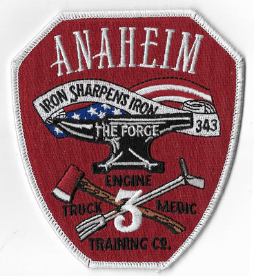 Anaheim, CA Station 3 The Forge Patch