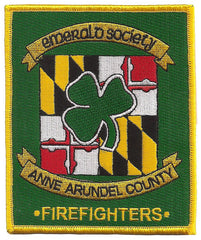 Anne Arundel, MD Pipes & Drums Patch