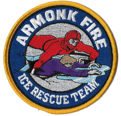 Armonk, NY Ice Rescue Team Patch