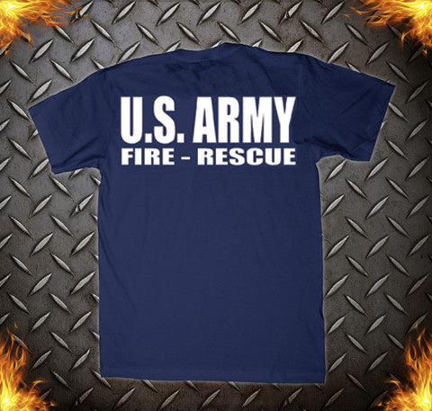 Us army crash rescue tee eagle emblems graphics for Custom t shirts manchester ct