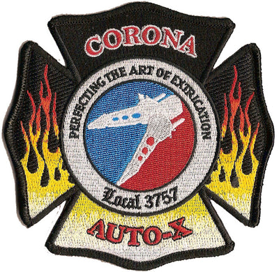 Corona, CA Auto Extrication Patch