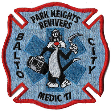Baltimore City Medic 17 Patch