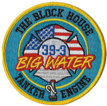 "Garden Spot, PA ""Big Water"" Station 39-3 Patch"