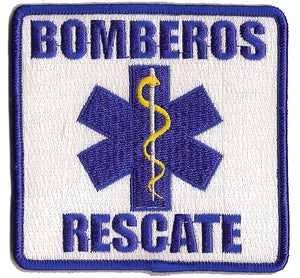 Mexico Bomberos Rescate EMS Patch