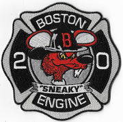 "Boston Engine 20 ""Sneaky"" Patch"
