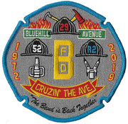 Boston Engine 52 Ladder 29 Rescue 2 New Grey Patch
