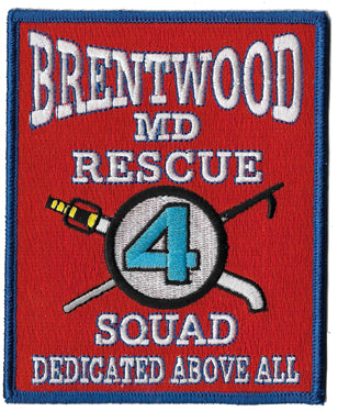 Brentwood, MD Rescue Squad 4 Patch
