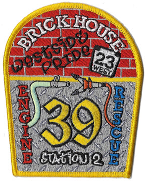 "Garden Spot, PA ""Brick House"" Station 2 Patch"