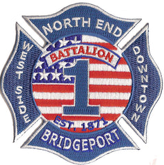Bridgeport, CT Battalion 1 Patch