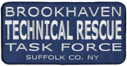"Brookhaven, NY Technical Rescue Large Patch 11"" x 5 1/2"""