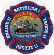 Burbank, Ca E-11 T-11 Rescue 11 Batt 1 Patch