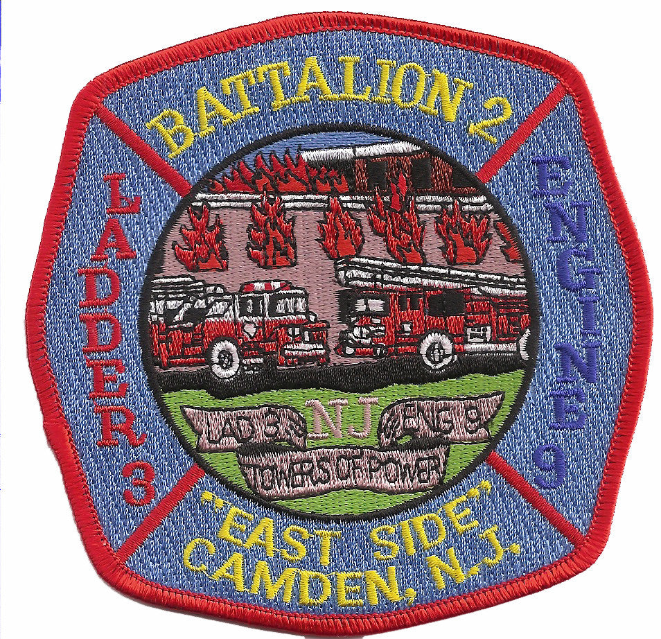 Camden Engine 9 Ladder 3 Patch