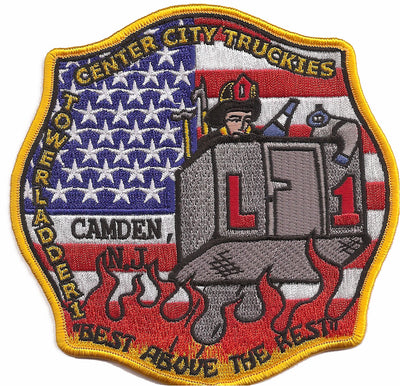 Camden, NJ Tower Ladder 1 Patch