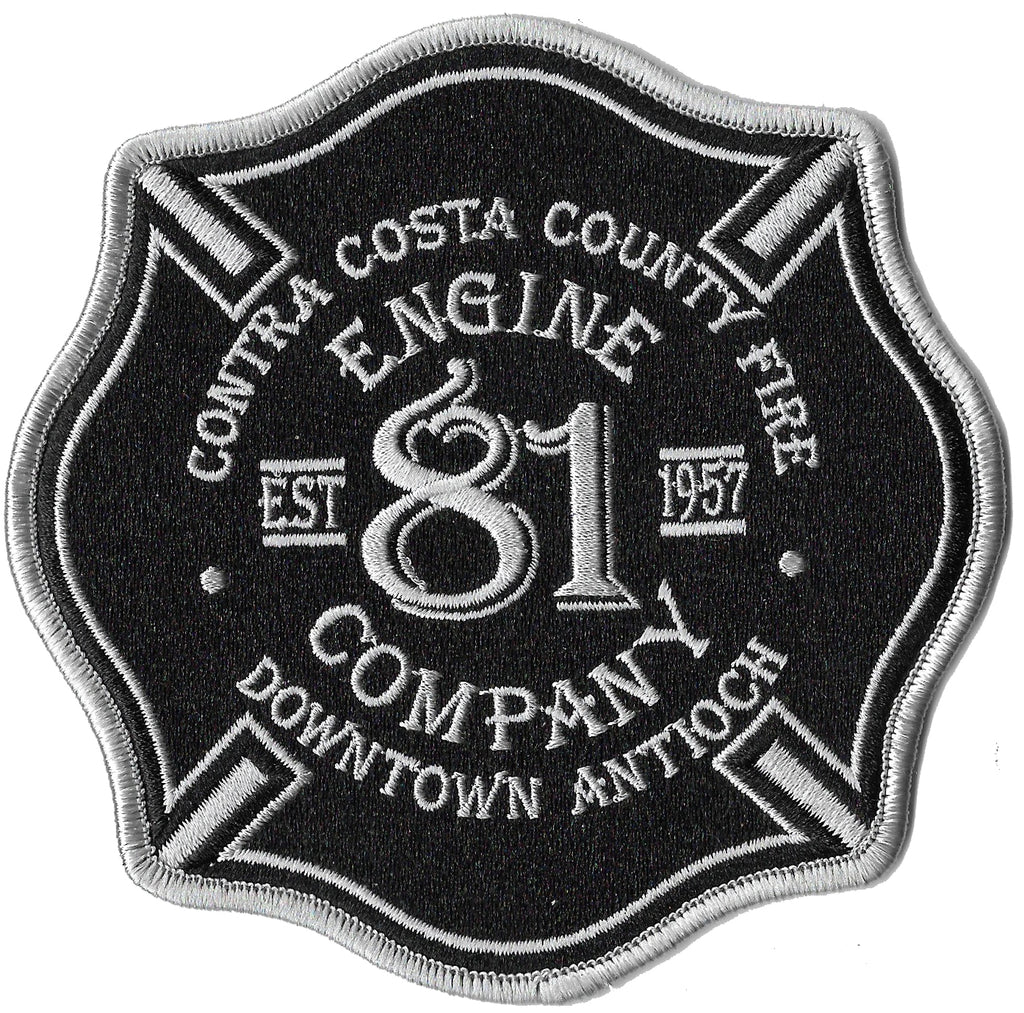 Contra Costa, CA Engine 81 Patch