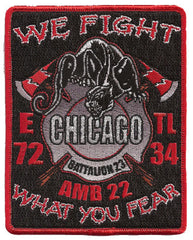 Chicago E-72 T-34 Amb. 22 Patch