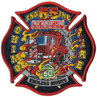 Chino, CA Engine 65 Patch Red Apparatus Patch
