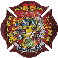 Chino, CA Engine 65 Yellow Apparatus Patch