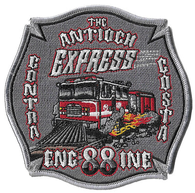 Contra Costa County Station 88 Antioch Express Fire Patch