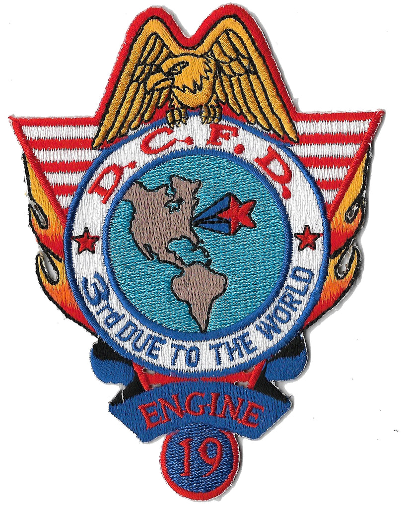 DCFD Engine 19  Patch